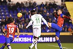 Levante UD's Pedro Lopez, David Navarro and Granada CF's Success during La Liga match. December 12, 2015. (ALTERPHOTOS/Javier Comos)