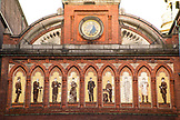 DENMARK, Copenhagen, Mural in the Architecture of the Carlsberg Brewery, Europe