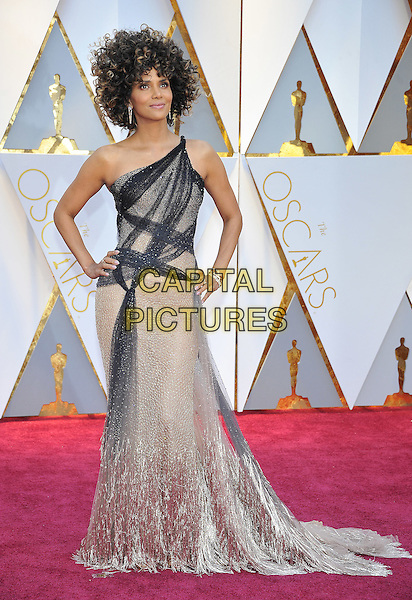 HOLLYWOOD - FEBRUARY 26: Halle Berry attends the 89th Annual Academy Awards at the Dolby Theatre on February 26, 2017 in Hollywood, California. <br /> CAP/MPI99<br /> &copy;MPI99/Capital Pictures