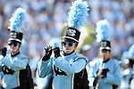 24 October 2015: The UNC marching band plays before the game. The University of North Carolina Tar Heels hosted the University of Virginia Cavaliers at Kenan Memorial Stadium in Chapel Hill, North Carolina in a 2015 NCAA Division I College Football game. UNC won the game 26-13.
