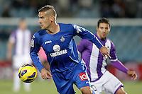 Getafe's Alberto Lopo during La Liga match.November 18,2012. (ALTERPHOTOS/Acero)