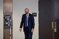 United States Senator Pat Roberts (Republican of Kansas) departs the Senate GOP Policy Luncheons at the Hart Senate Office Building  in Washington D.C., U.S., on Wednesday, May 20, 2020.  Credit: Stefani Reynolds / CNP/AdMedia
