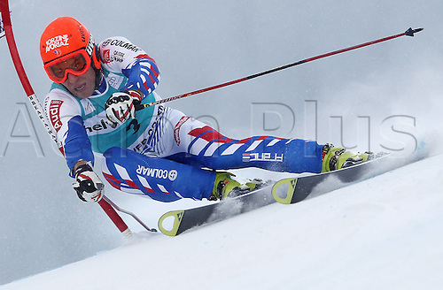 04.12.2011. Beaver Creek Colorado USA Ski Alpine FIS World Cup Giant slalom the men Picture shows Cyprien Richard FRA