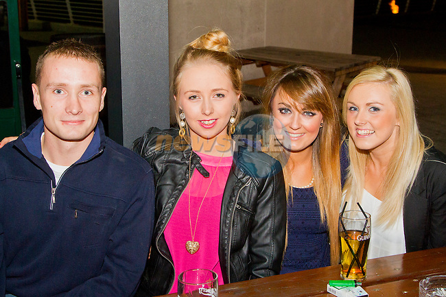 Andrew Cox, Shauna McGahon, Kerrie Doyle and Stacey Brien in WM Cairnes.<br /> Picture: Shane Maguire / Newsfile.ie