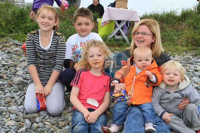 Holly, Damien, Molly, Heidi, Claire and Charlie at the 2011 Laytown races.(Photo credit should read Jenny Matthews www.newsfile.ie)....This Picture has been sent you under the conditions enclosed by:.Newsfile Ltd..The Studio,.Millmount Abbey,.Drogheda,.Co Meath..Ireland..Tel: +353(0)41-9871240.Fax: +353(0)41-9871260.GSM: +353(0)86-2500958.email: pictures@newsfile.ie.www.newsfile.ie.