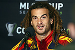 20 November 2009: Midfielder Kyle Beckerman during the press conference. Real Salt Lake held a training session and press conference at Qwest Field in Seattle, Washington in preparation for playing the Los Angeles Galaxy in Major League Soccer's championship game, MLS Cup 2009, two days later.