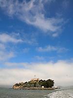 Alcatraz Island in San Fransisco Bay