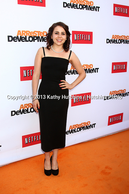 """LOS ANGELES - APR 29:  Mae Whitman arrives at the """"Arrested Development"""" Los Angeles Premiere at the Chinese Theater on April 29, 2013 in Los Angeles, CA"""