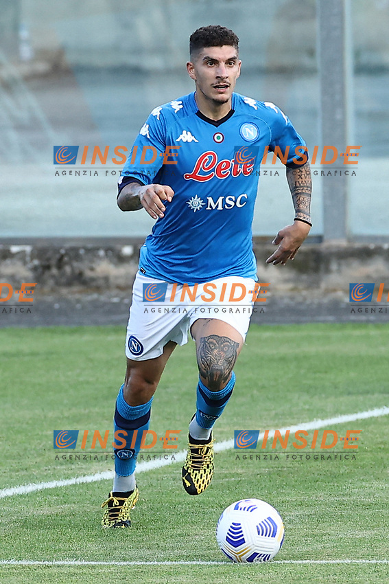 Giovanni Di Lorenzo of SSC Napoli<br /> during the friendly football match between SSC Napoli and Castel di Sangro Cep 1953 at stadio Patini in Castel di Sangro, Italy, August 28, 2020. <br /> Photo Cesare Purini / Insidefoto