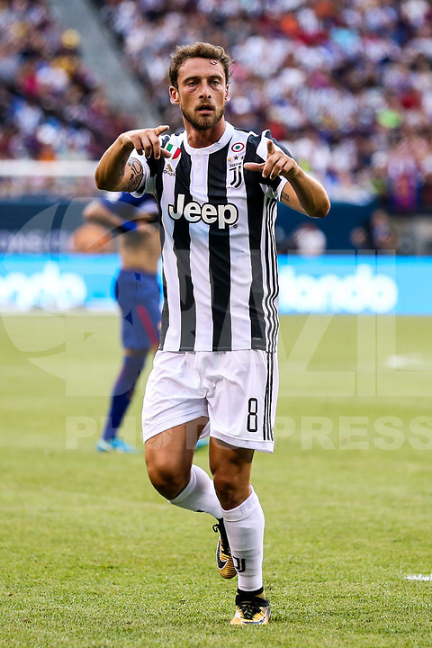 EAST RUTHERFORD, EUA, 22.07.2017 - JUVENTUS-BARCELONA - <br />