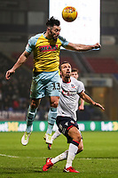 Bolton Wanderers' Gary O'Neil putting Rotherham United's Richie Towell under pressure<br /> <br /> Photographer Andrew Kearns/CameraSport<br /> <br /> The EFL Sky Bet Championship - Bolton Wanderers v Rotherham United - Wednesday 26th December 2018 - University of Bolton Stadium - Bolton<br /> <br /> World Copyright &copy; 2018 CameraSport. All rights reserved. 43 Linden Ave. Countesthorpe. Leicester. England. LE8 5PG - Tel: +44 (0) 116 277 4147 - admin@camerasport.com - www.camerasport.com