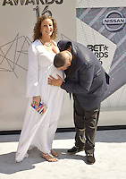 LOS ANGELES, CA - JUNE 26: DJ Khaled, Nicole Tuck at the 2016 BET Awards at the Microsoft Theater on June 26, 2016 in Los Angeles, California. Credit: Koi Sojer/MediaPunch