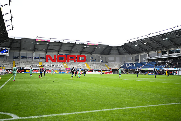 Stadionuebersicht | †bersicht  Benteler Arena des SC Paderborn<br /><br />Foto: Edith Geuppert/GES /Pool / Rauch / nordphoto <br /><br />DFL regulations prohibit any use of photographs as image sequences and/or quasi-video.<br /><br />Editorial use only!<br /><br />National and international news-agencies out.