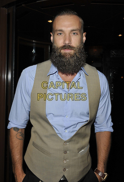 LONDON, ENGLAND - JULY 24: Calum Best attends the JuiceToU 1st anniversary &amp; re-branding party, Sanctum Soho Hotel, Warwick St., on Thursday July 24, 2014 in London, England, UK. <br /> CAP/CAN<br /> &copy;Can Nguyen/Capital Pictures