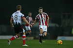 Ben Whiteman of Sheffield Utd  during the Checkatrade Trophy match at Blundell Park Stadium, Grimsby. Picture date: November 9th, 2016. Pic Simon Bellis/Sportimage
