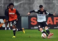 SÃO PAULO,SP, 01 julho 2013 -  Jocinei  durante treino do Corinthians no CT Joaquim Grava na zona leste de Sao Paulo, onde o time se prepara  para para enfrenta o Sao Paulo pelas finais da Recopa . FOTO ALAN MORICI - BRAZIL FOTO PRESS