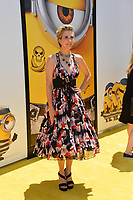 Kristen Wiig at the world premiere for &quot;Despicable Me 3&quot; at the Shrine Auditorium, Los Angeles, USA 24 June  2017<br /> Picture: Paul Smith/Featureflash/SilverHub 0208 004 5359 sales@silverhubmedia.com