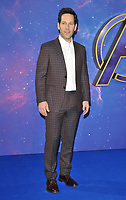 """Paul Rudd at the """"Avengers: Endgame"""" UK fan event, Picturehouse Central, Corner of Shaftesbury Avenue and Great Windmill Street, London, England, UK, on Wednesday 10th April 2019.<br /> CAP/CAN<br /> ©CAN/Capital Pictures"""