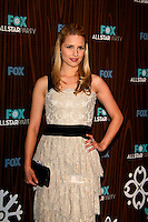 January 11, 2010:  Dianna Agron arrives at the Fox All Star Party at the Villa Sorisso in Pasadena, California.Photo by Nina Prommer/Milestone Photo
