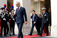 Giuseppe Conte <br /> Rome May 7th 2019. The Italian Prime Minister meets the Premier of the Government of National Accord of Libya.<br /> Photo di Samantha Zucchi/Insidefoto
