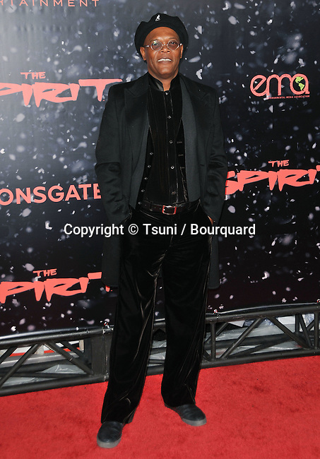 Samuel Jackson -<br /> The Spirit Premiere at the Chinese Theatre In Los Angeles.