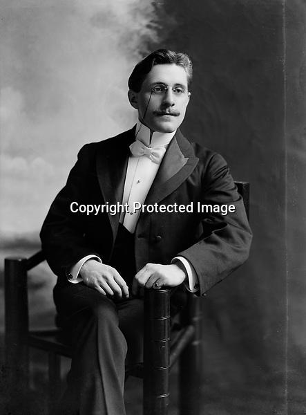 Lewis Peter Litzinger, Sr. (1880) - taken 1901-1903<br /> <br /> Photo by C.M. Bell Studio<br /> <br /> Conrad&gt;Leonard&gt;Anthony&gt;...Lewis Peter