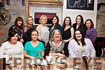 Stepping Stones Childcare Centre and Preschool, Lee Drive Ballinorig before going back to school and celebrating their 10th Anniversary in the Croi Restaurant on Friday night.<br /> Seated L-r, Maggie Harrington, Sandra Foran, Bernie Stepney and Katie Brassil.<br /> Back l-r, Maria Recio, Sindy McLoughlin, Mary Maunsell, Ciara Stepney, Sarah Brosnan, Amy Long and Linda Duggan.