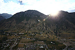 1309-22 0139<br /> <br /> 1309-22 BYU Campus Aerials<br /> <br /> Brigham Young University Campus West looking East, Provo, Sunrise, Y Mountain<br /> <br /> September 6, 2013<br /> <br /> Photo by Jaren Wilkey/BYU<br /> <br /> © BYU PHOTO 2013<br /> All Rights Reserved<br /> photo@byu.edu  (801)422-7322
