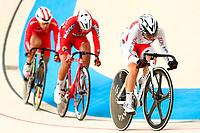 Picture by Alex Whitehead/SWpix.com - 09/12/2017 - Cycling - UCI Track Cycling World Cup Santiago - Velódromo de Peñalolén, Santiago, Chile - Japan's Yumi Kajihara during the Women's Omnium Tempo race.