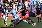Nani of Valencia CF battles for the ball with Victor Diaz of Club Deportivo Leganes during their La Liga match between Club Deportivo Leganes and Valencia CF at the Butarque Municipal Stadium on 25 September 2016 in Madrid, Spain. Photo by Diego Gonzalez Souto / Power Sport Images