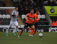 John Rankin in the St Mirren v Dundee United Clydesdale Bank Scottish Premier League match played at St Mirren Park, Paisley on 27.10.12.