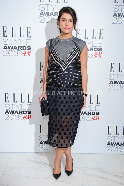 WWW.ACEPIXS.COM<br /> <br /> February 24 2015, London<br /> <br /> Jessie Ware arriving at the ELLE style awards 2015 at the Walkie Talkie Tower on February 24 2015 in London<br /> <br /> By Line: Famous/ACE Pictures<br /> <br /> <br /> ACE Pictures, Inc.<br /> tel: 646 769 0430<br /> Email: info@acepixs.com<br /> www.acepixs.com
