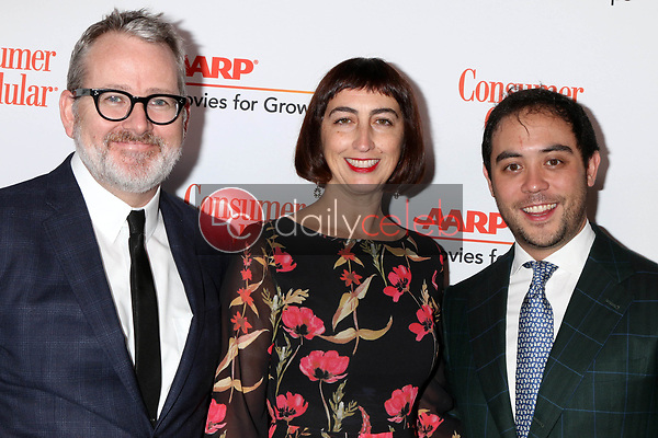 Morgan Neville, Caryn Capotosto, Nicholas Ma<br /> at the AARP Movies for Growups Awards, Beverly Wilshire Hotel, Beverly Hills, CA 02-04-19<br /> David Edwards/DailyCeleb.com 818-249-4998