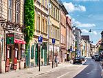 Ulica Józefa na Krakowskim Kazimierzu.