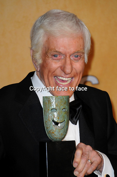 Dick van Dyke in the press room at the 19th Annual Screen Actors Guild Awards held at The Shrine Auditorium on January 27, 2013 in Los Angeles, California...Credit: Gina Bailey/face to face
