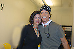 Guiding Light's Saundra Santiago (OLTL) poses with Bradley Cole at the 9th Annual Rock Show for Charity to benefit the American Red Cross of Greater New York on October 9, 2010 at the American Red Cross Headquarters, New York City, New York. (Photos by Sue Coflin/Max Photos)