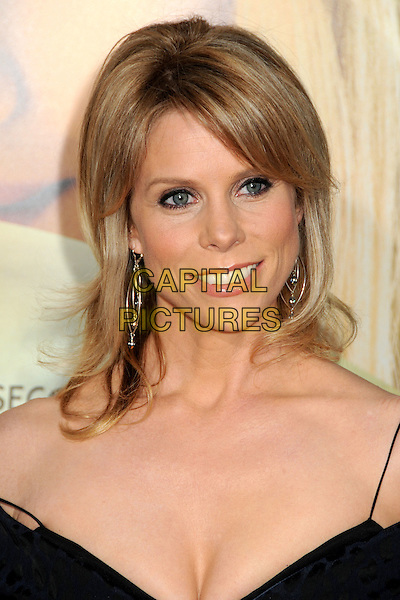 "CHERYL HINES .Attending ""Letters To Juliet"" Los Angeles Premiere held at Grauman's Chinese Theatre, Hollywood, California , USA, .11th May 2010..arrivals portrait headshot black cleavage smiling dangly silver earrings .CAP/ADM/BP.©Byron Purvis/AdMedia/Capital Pictures."