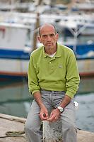 Lampedusa, Italy, March 15, 2011. Italian journalist Domenico Quirico
