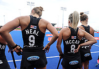 Blacksticks during the Pro League Hockey match between the Blacksticks women and the USA, Nga Punawai, Christchurch, New Zealand, Sunday 16 February 2020. Photo: Simon Watts/www.bwmedia.co.nz