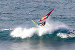 Windsurfing at Ho'okipa Beach Park, Paia, Maui, Hawaii, USA