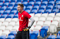 Wayne Hennessey during Wales national team training ahead of the World Cup Qualification match against Republic of Ireland at Cardiff City Stadium, Cardiff, Wales on 8 October 2017. Photo by Mark  Hawkins.