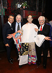 Sergipo Trujillo, Robert De Niro, Jonathan Brody and Jerry Zaks during the Actors' Equity Gypsy Robe Ceremony honoring Jonathan Brody for  'A Bronx Tale'  at The Longacre on December 1, 2016 in New York City.