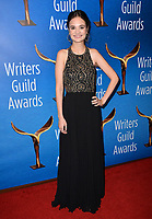 LOS ANGELES, CA. February 17, 2019: Tessa Leigh Williams at the 2019 Writers Guild Awards at the Beverly Hilton Hotel.<br /> Picture: Paul Smith/Featureflash