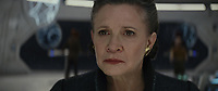 Star Wars: The Last Jedi (2017)<br /> CARRIE FISHER<br /> *Filmstill - Editorial Use Only*<br /> CAP/FB<br /> Image supplied by Capital Pictures