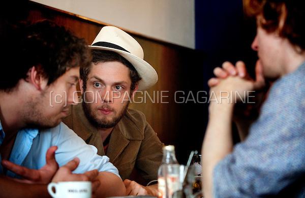 Tim Vanhamel from the Belgian rock duo Broken Glass Heroes (Belgium, 27/08/2010)