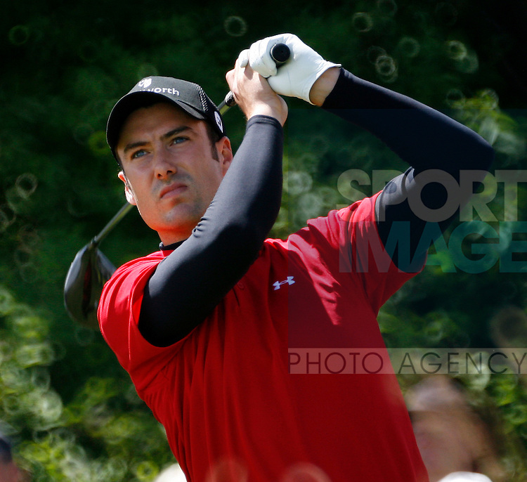 England's Ross Fisher on the 9th