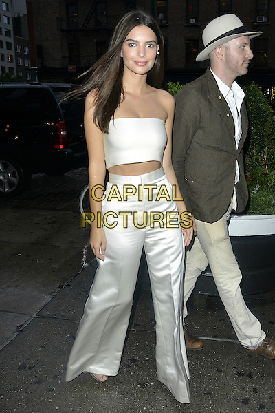 NEW YORK, NY - SEPTEMBER 10:  Emily Ratajkowski and boyfriend Jeff Magid seen in New York City on September 10, 2015.  <br /> CAP/MPI67<br /> &copy;MPI67/Capital Pictures