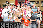 Sarah Donaghy of Culdoire (seated centre) celebrating her 21st birthday in the Abbey Gate Hotel, Tralee, on Saturday evening, along with family and friends..