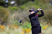 Lucy Jones (WAL) during the second round of the Irish Womans Open Strokeplay Championship, Co Louth Golf Club, Baltray, Drogheda, Co Louth, Ireland. 12/05/2018.<br /> Picture: Golffile | Fran Caffrey<br /> <br /> <br /> All photo usage must carry mandatory copyright credit (&copy; Golffile | Fran Caffrey)