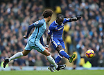Victor Moses of Chelsea during the Premier League match at the Etihad Stadium, Manchester. Picture date: December 3rd, 2016. Pic Simon Bellis/Sportimage